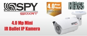 Smart Serisi 4.0 Mp Mini IR Bullet IP Kamera